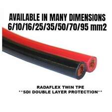 RADAFLEX® 300/500 V Twin Parallel Cable, Red/Black -25/70 °C - One Meter