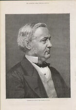 1878 PROFESSOR MAX MULLER OF THE UNIVERSITY OF OXFORD PORTRAIT