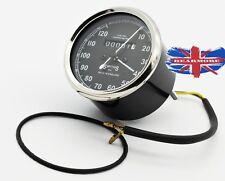 SMITHS SPEEDOMETER ODOMETER MILEAGE METER 120Mph British bike Speedometer Replic