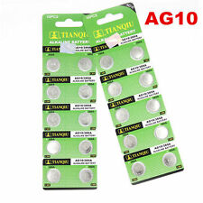 10 Pk AG10 LR1130 389 390 189 L1131 LR54 D389 Alkaline Button Cell Battery 2020