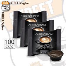100 Capsule Caffè Borbone Don Carlo Miscela Nera compatibili a Modo Mio