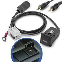 AUX IN Adapter Kabel Einbau Buchse für RCD 200 210 300 310 500 510 RNS MFD 2