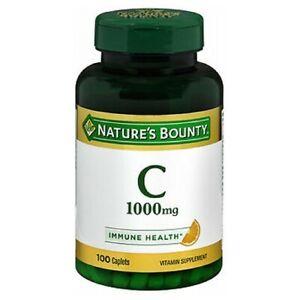 Nature's Bounty Vitamin C 100 tabs 1000 mg