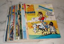 Lot de 18 magazines revue BD journal SPIROU année 1986 Nº 2517 à 2536