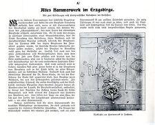 A.Heinicke Elterlein i.E. Altes Hammerwerk im Erzgebirge in Frohnau Annaberg1903