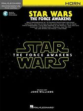 Play-Along Star Wars The Force Awakens Horn Movie MUSIC BOOK & ONLINE AUDIO