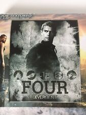 "Divergent Four Textured Fleece Throw Blanket (Theo James) New 50"" x 60"" NECA"