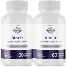 2PACK BIOFIT WEIGHT LOSS - SUPPORTS HEALTHY GUT FLORA - FREE SHIPPING
