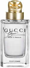 GUCCI MADE TO MEASURE POUR HOMME 3.0 oz edt Men Cologne NEW tester WITH CAP