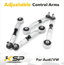 Set of 4 For Audi Adjustable Upper Control Arms 1996-2008 A4 RS4 S4 A5 S5 Q5 VW