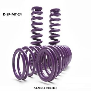 "D2 PRO Lowering Springs 2.0""F/1.8""R For 2008-2014 Mitsubishi Lancer Evo X"