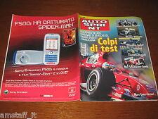 AUTOSPRINT 2004/48=RALLY DI MONZA=PRESENTAZIONE PARIGI-DAKAR=PUBBLICITA VODAFONE