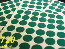 Bulk 720 Pack Felt Adhesive Circles to Protect Furniture, Glass etc - Feltac