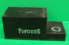 Fingers Frankonia Coin Bank 1960's Japan Tin Vintage