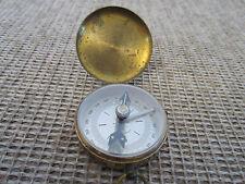 Maritime, German Brass Hand Held Mini Compass