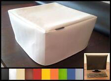 Staubschutzhülle f. alle Laserdrucker maßgeschneidert in 10 Farben Kunstleder