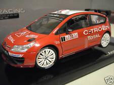 CITROËN C4 WRC 2007 # 1 LOEB RALLYE MONTE CARLO au 1/18 SOLIDO 1ère version 9061