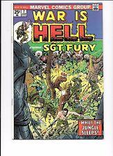 War Is Hell #7 June 1974 Marvel Comics Sgt. Fury