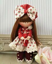 Rag doll handmade in the UK Tilda doll Ooak doll Cloth doll NINA 6 inch tall
