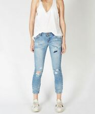 NWT ONE TEASPOON Santa Cruz FREEBIRDS Distressed Skinny Jeans 26 $148
