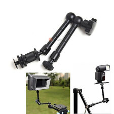 "11"" Adjustable Articulating Magic Arm Bracket for Monitor Camera LED Light Flash"