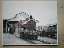 PHOTO  10 X 8 INCHES - UNKNOWN LOCO ON A  - IRISH RAILWAY RECORD SOCIETY TOUR