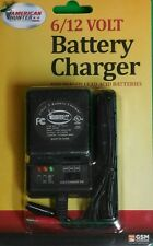 NEW AMERICAN HUNTER 6 volt AND 12 volt BATTERY CHARGER MODEL # BL-C6/12