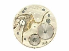 VINTAGE MARVIN 39.4MM SWISS 7 JEWEL POCKET WATCH MOVEMENT FOR PARTS OR REPAIR