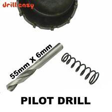 PILOT Drill 55mm x 6mm Hole Saw Arbors Hole Saw Arbor trapano facile