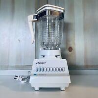 Vintage Osterizer Designer Cycle Blend Blender 5 Cup Glass 890-20M
