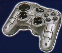 Saitek P580 Silber GAMEPAD CONTROLLER * DUAL ANALOG SILBER Neu