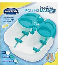 Soothing Rolling Bath Massage Foot Spa Massager Relief Bubbles Splash Guard New