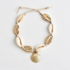 Women's Elegant Charm Boho Simple Conch Shell Foot Chain Anklet Bracelet Jewelry