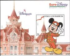 Antigua 1993 Euro Disney/Cartoons/Animation/Mickey/Clock/Building 1v m/s  b4165f