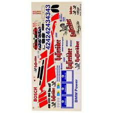 Decal Sheets 1:10 BMW M3 GTR 24 H Nürnburgring 2003 Carson 69145 800068