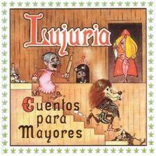 New: Lujuria: Cuentos Para Mayores  Audio CD