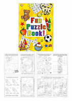 6 Fun Puzzle Books - A6 Size - Small Loot/Party Bag Fillers Wedding/Kids