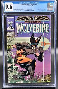 Marvel Comics Presents #1 CGC 9.6 NM+ Wolverine