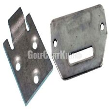 (1) Set of EZGO Seat Hinge Bottom and Cart Plate (1995+) TXT/Medalist Golf Cart