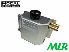 MOCAL CT3 1 LITRE ALLOY CATCH TANK/ENGINE BREATHER TANK LEFT OR RIGHT INLETS BDP