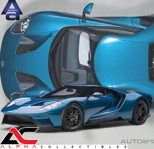 AUTOART 12107 1:12 FORD GT 2017 (LIQUID BLUE) SUPERCAR