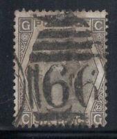 Großbritannien 1873 Mi. 39 Gestempelt 60% 6 Pence, Königin Victoria, G, C.
