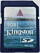 Kingston 1GB SD Secure Digital Memory Card