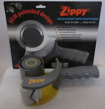"""Zippy Home & Office 2"""" Packaging Tape Dispenser Incredibly Easy & Safe to Use"""