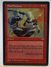 MTG 1X Final Fortune X1 Mirage Magic MP or better