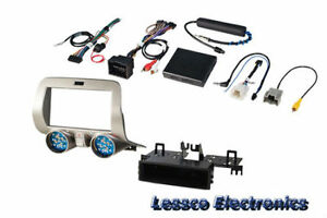 PAC RPK5-GM4101 (GM5201AB) Single/Double DIN Dash Kit for 2010-15 Chevy Camaro