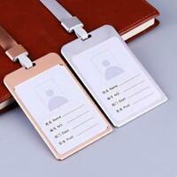 Visitenkarte Aluminiumlegierung Arbeit Karteninhaber Cases Id Business Neu H0L3