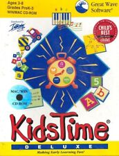 Rare Great Wave Software Kids Time Deluxe