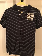 Mens Abercrombie And Fitch Navy Polo Shirt Muscle Fit Small