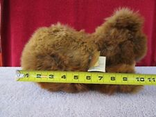 Vintage Herman Teddy Large Sleeping Bear With Tags and Chain Fs